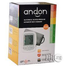 Andon Blood Pressure Monitor (One Of The Best) | Medical Supplies & Equipment for sale in Lagos State, Mushin