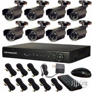 8 Camera CCTV With Internet & 3G Phone View | Security & Surveillance for sale in Lagos State, Ikeja