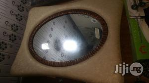 Leather Oval Mirror | Home Accessories for sale in Lagos State, Lagos Island (Eko)