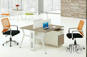 2man Workstation With Metal Legs | Furniture for sale in Lagos State, Victoria Island