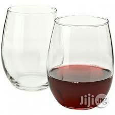 Turkey Transparent Wine/Bear Glass Cup,By 6pcs | Kitchen & Dining for sale in Lagos State, Lagos Island (Eko)