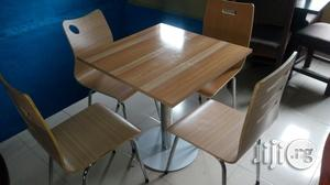 Unique Set Restaurant Chair Table by 4   Furniture for sale in Lagos State, Ojo